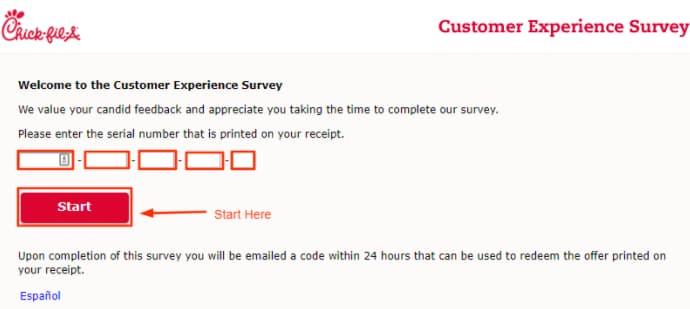 MyCFAVisit Feedback Survey